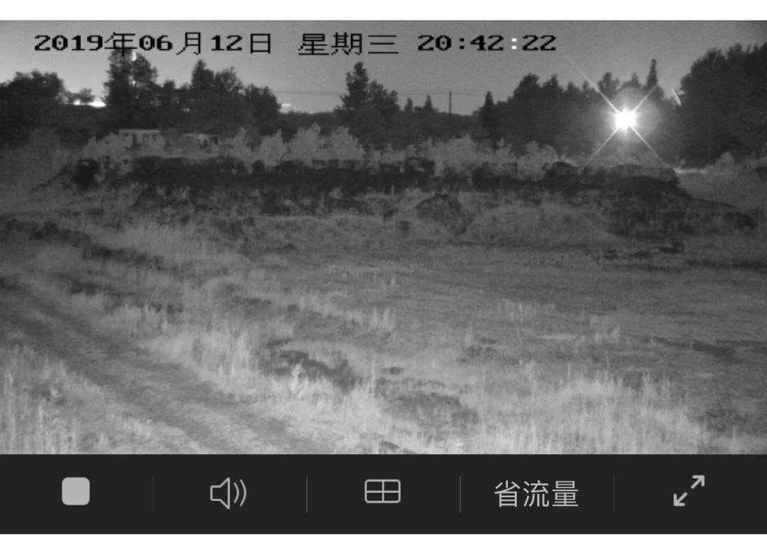 白茆镇某矿区太阳能4G监控